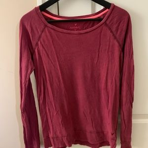 American Eagle - Basic Long Sleeve Shirt